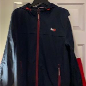 Tommy Hilfiger Jacket Red and Blue and white